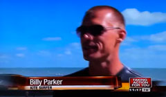 Billy Parker, Florida pier jumper